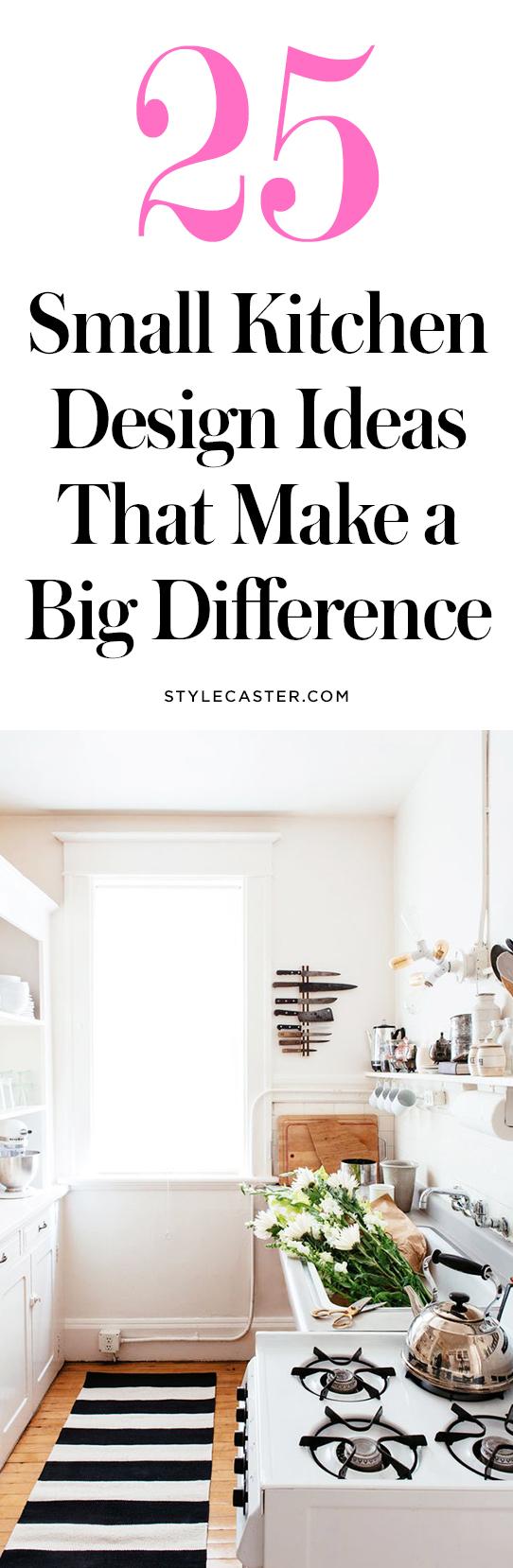 25 small kitchen design ideas | @stylecaster