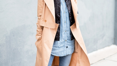 20 New Ways to Rock a Trench Coat  | StyleCaster