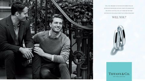 Tiffany Ads Feature Same-Sex Couple | StyleCaster
