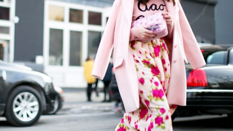 30 Cool-Girl Ways to Wear Winter Florals | StyleCaster