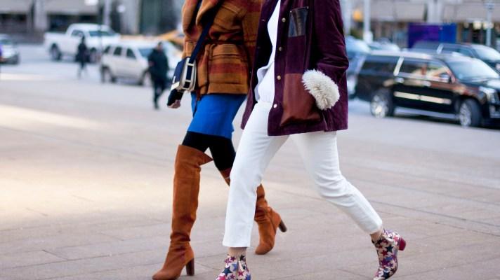 Winter Street Style From Fashion Week