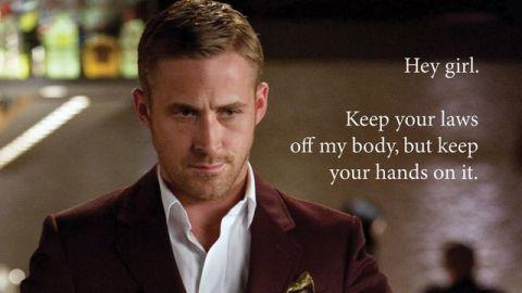 Ryan Gosling for President!   | StyleCaster