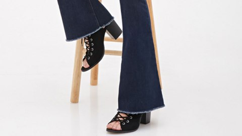 Found It: $25 Flared Jeans   StyleCaster