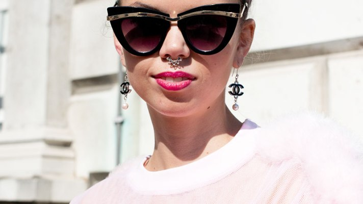 It's Official: Septum Rings Are Trending With Fashion Week's Street Style Crowd