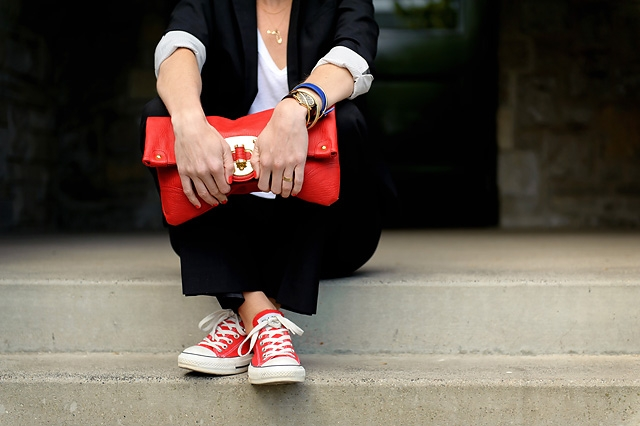 20 Ways to Wear Colored Converse