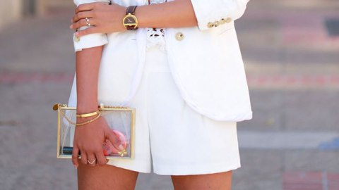 Bridal Shorts are Officially a Thing | StyleCaster