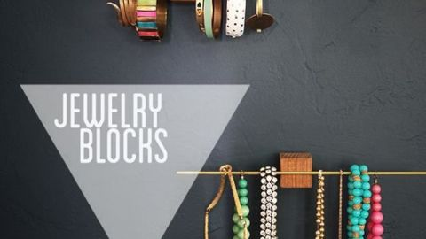 10 Creative Ways to Hang Jewelry | StyleCaster