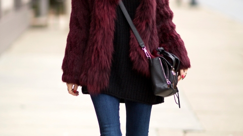 20 Ways to Wear Colorful Fur | StyleCaster