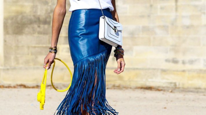 12 Fringe Skirts That'll Make You Look Like a Street Style Star