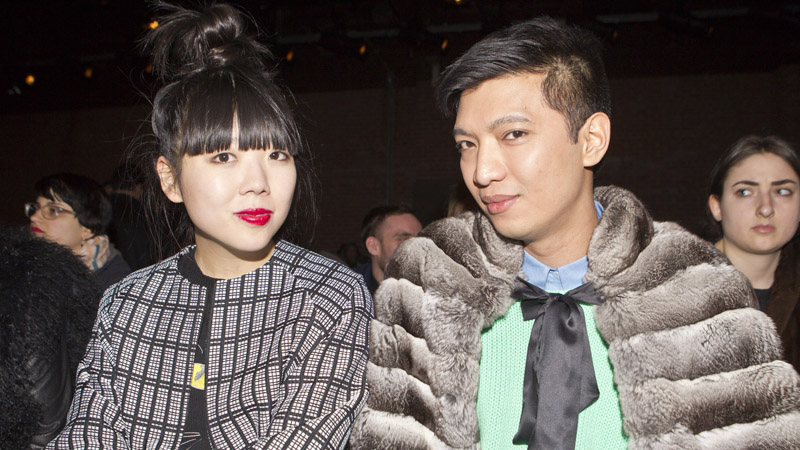 Doo.Ri - Front Row & Backstage - Fall 2012 Mercedes-Benz Fashion Week