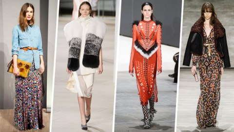 10 Strong Trends From NYFW   StyleCaster