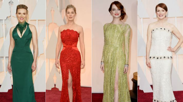 Oscars Red Carpet 2015: See All the Dresses!