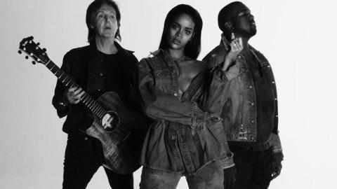 Watch Rihanna's 'FourFiveSeconds' Video | StyleCaster