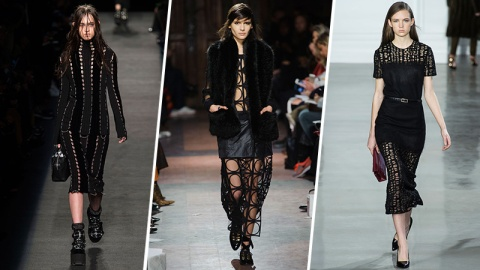 Fall Trend: An Edgy Take on Sheer | StyleCaster