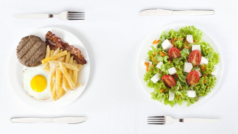 120337415 Cliché But True: Men Order Meat in Restaurants, While Women Order Salad