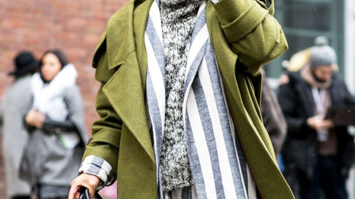 How to Wear Army Green Like a Street Style Star