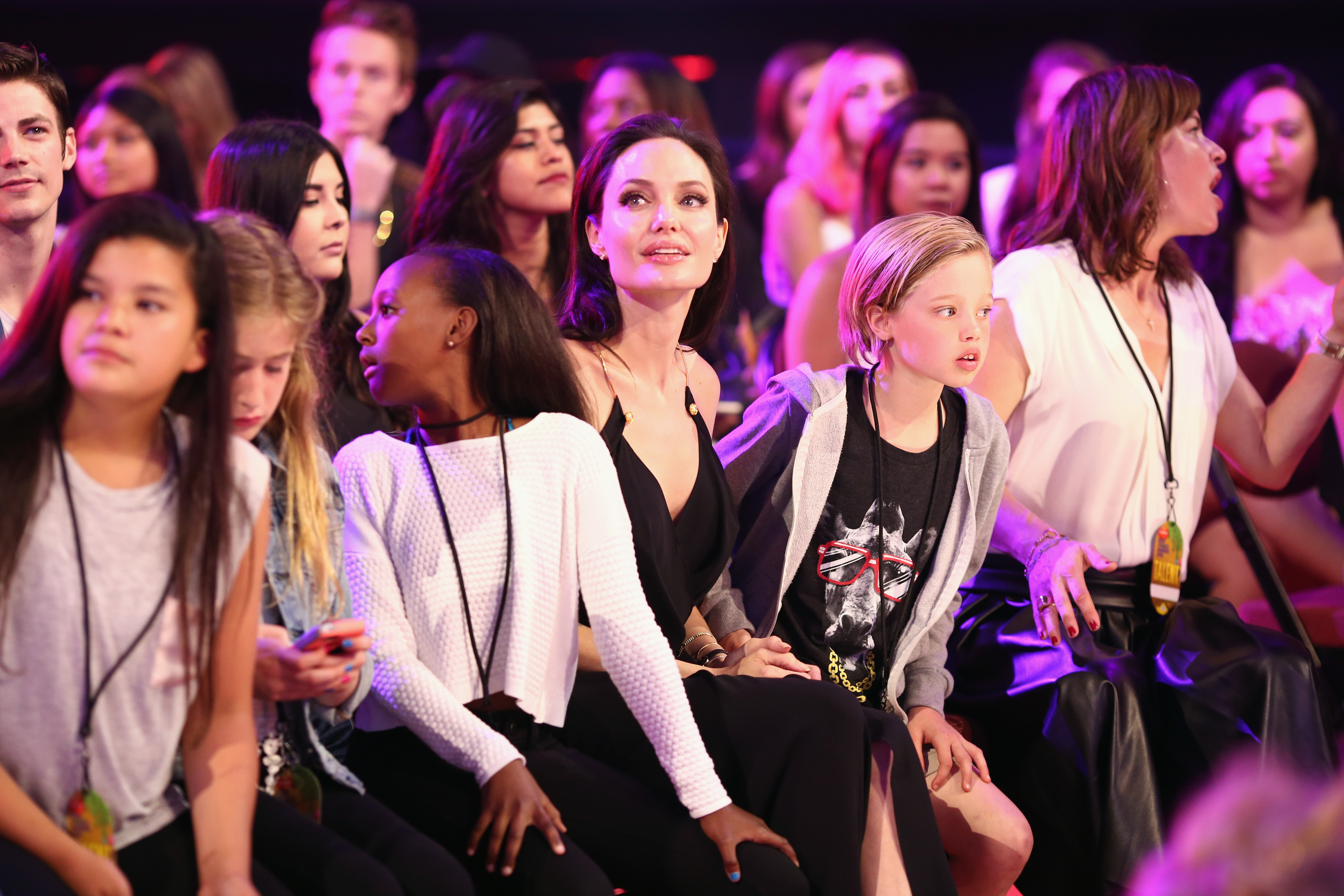 Angelina Jolie Ruled the Kid's Choice Awards With Moving Speech—and Adorable Daughters
