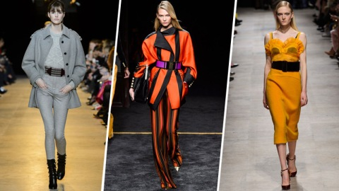 Oversized Belts Are Everywhere This PFW | StyleCaster