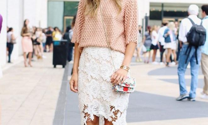 35 Ways to Wear Lace Like a Street Style Star