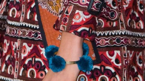 DIY Burberry's Pom Pom Bracelet!   StyleCaster
