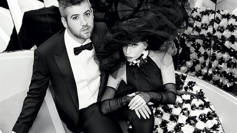 Lady Gaga Poses in Coco Chanel's Apt | StyleCaster