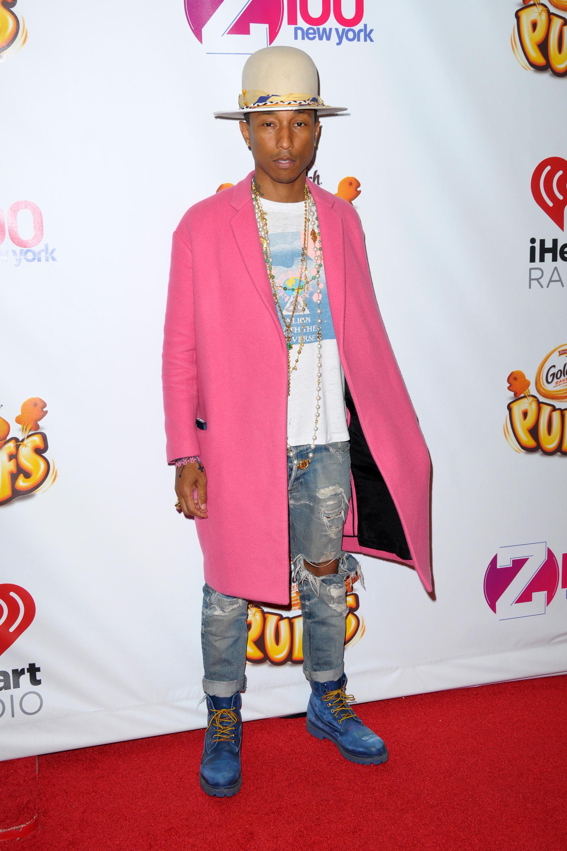 pharrell williams CFDA fashion icon 2015