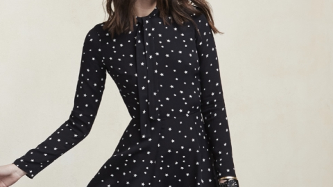 Ed's Pick: A Star-Print Minidress | StyleCaster