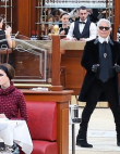 Chanel Turned Its Runway Into a Cafe