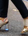 10 Pairs of Chic Acrylic Heels