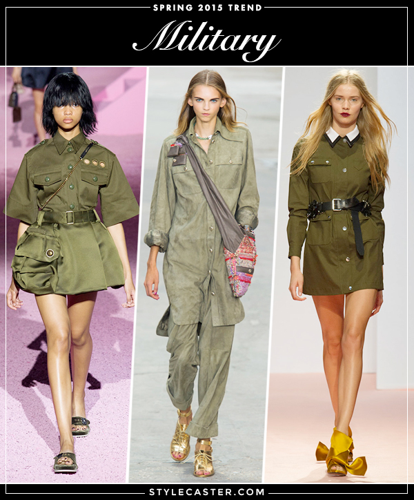 Spring-Trend-2015-Military
