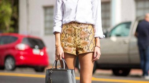 25 Ways to Style High-Waist Shorts | StyleCaster