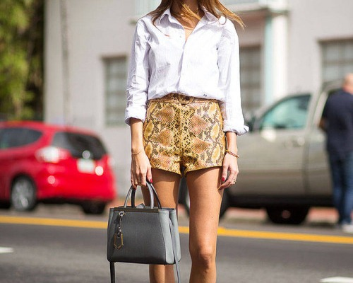 25 Ways to Wear High-Waisted Shorts This Spring