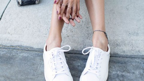 How to Clean White Sneakers | StyleCaster