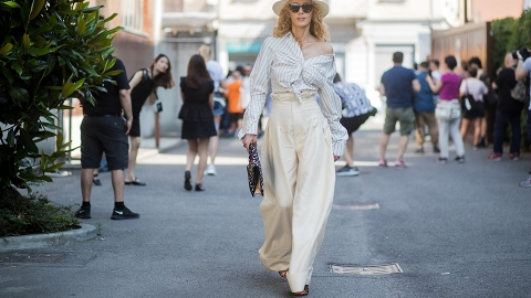 Big, Huge, Wide-Leg Pants Aren't Going Anywhere | StyleCaster