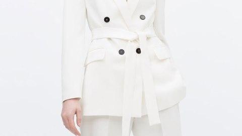 Ed's Pick: Zara's Obi Belt Blazer | StyleCaster