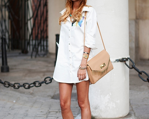 25 Simple Ways to Style a Shirtdress for Spring