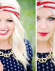 Instagram Insta-Glam: 4th of July Makeup
