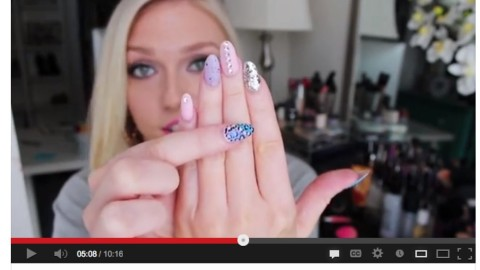 Stiletto Nails How To: 8 YouTube Tutorials on the Popular Manicure | StyleCaster