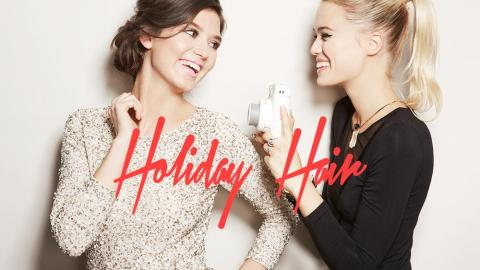 8 Holiday Hairstyles You Need Now   StyleCaster