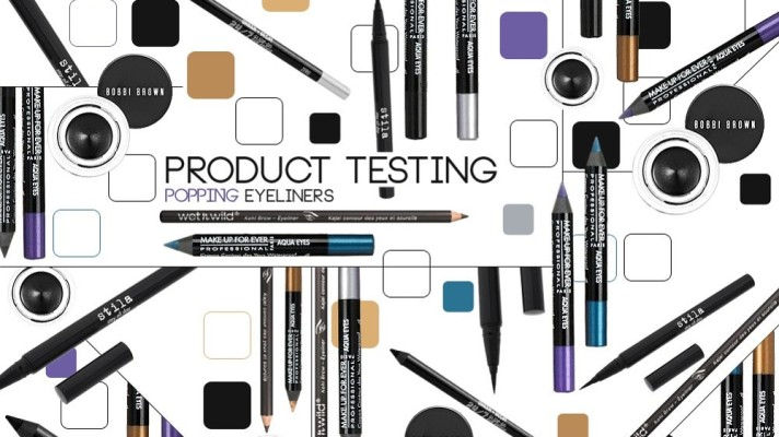 Product Testing: Top 5 Eyeliners To Make Your Eyes Pop