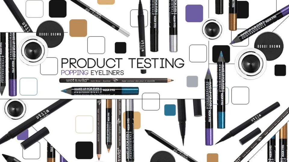 Product Testing: Top 5 Eyeliners To Make Your Eyes Pop | StyleCaster