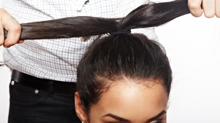 1 Look 3 Ways: How to Get a Top Knot With Thick Hair