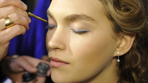 Snapshots from Paris: Backstage Beauty at Anthony Vaccarello | StyleCaster