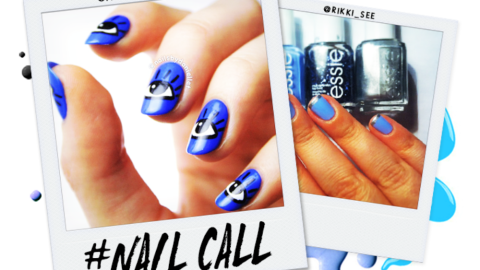 Tuesday's #NailCall: A Case of the Blues   StyleCaster