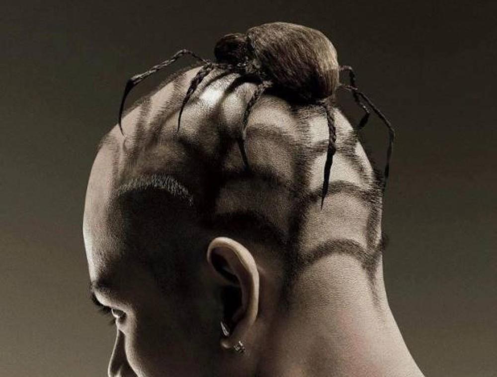Balding men share funny photos of their hair