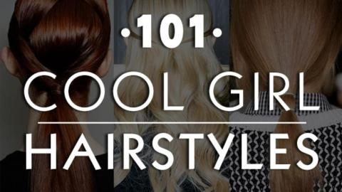 101 Cool Girl Hairstyles to Try Immediately | StyleCaster