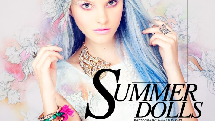 Summer Dolls: How to Embrace This Season's Technicolor Hair Trend
