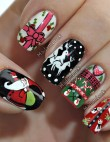 10 Christmas Nail Art Ideas to Jazz Up Your Holiday