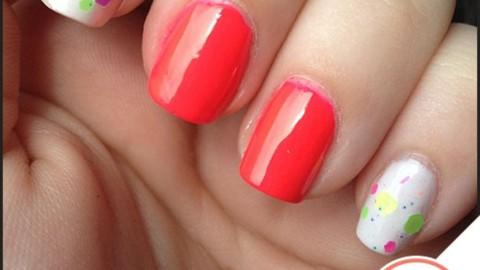 Tuesday's #NailCall: Punchy Brights and Glitter Nail Polish | StyleCaster