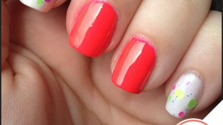 Tuesday's #NailCall: Punchy Brights and Glitter Nail Polish
